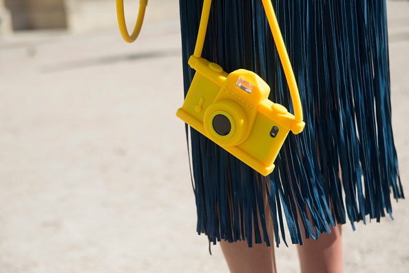 camera bag, fringe, Street Style - Paris Collections: WOMEN SS15 - September 23 To September 01 October, 2014