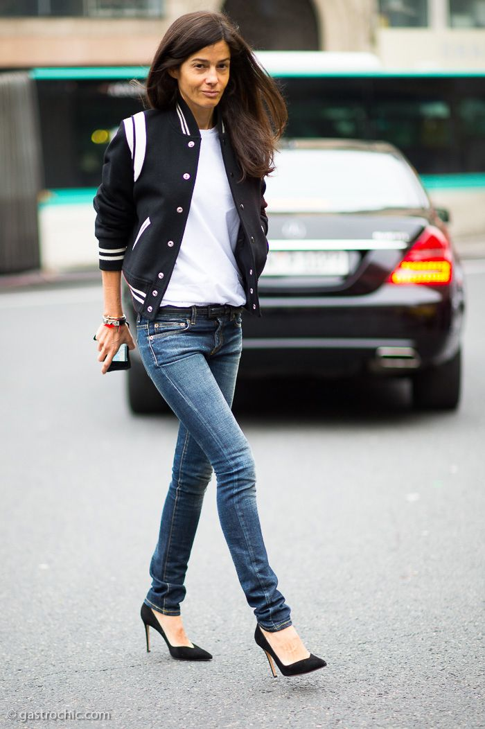 30  Ways To Style a Varsity Jacket – Closetful of Clothes