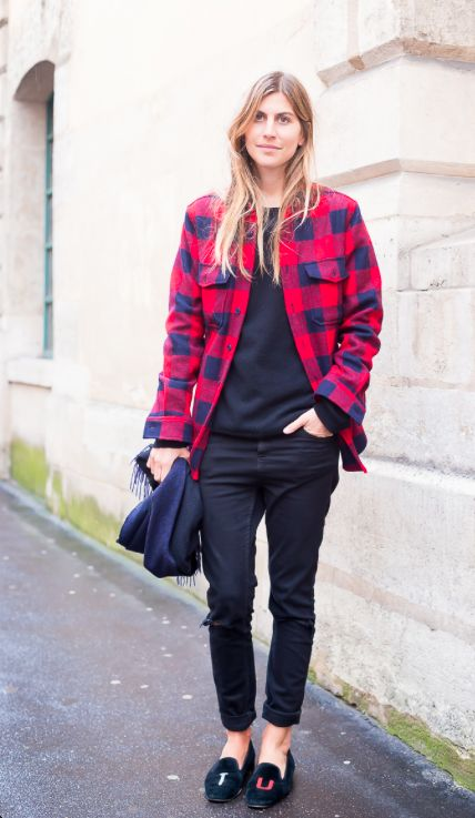 flannel-shirt-plaid-fall-slippers-via-lacooletchic.tumblr.com