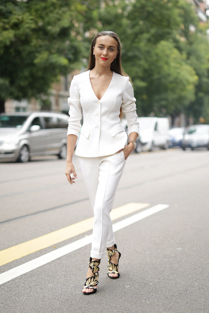 Everyone's Wearing: White Pant Suits | Closetful of Clothes