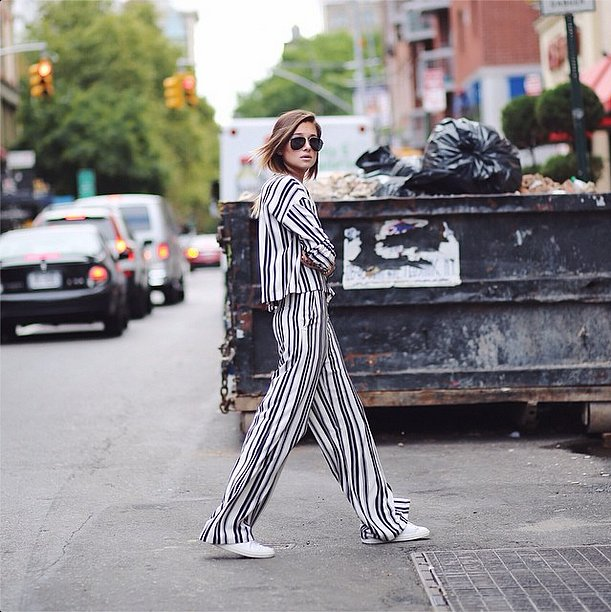 striped set, stripes, bold stripes, summer stripes, white shoes