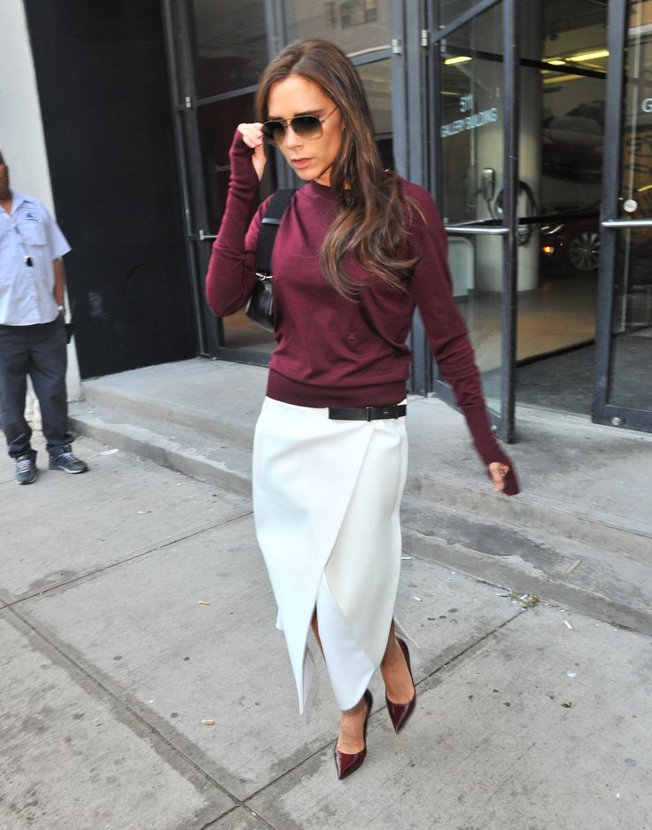 fall-whites-burgundy-victoria-beckham-wrap-skirt-via-whowhatwear.com
