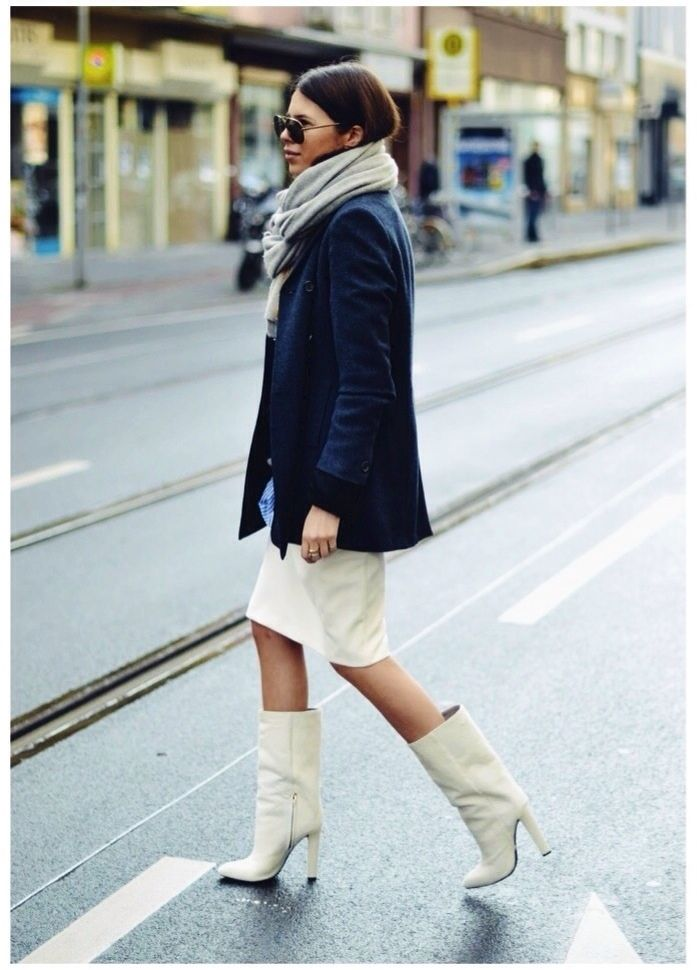 fall-whites-mid-calf-boots-mod-white-booties-neutrals-via-honestlywtf.com