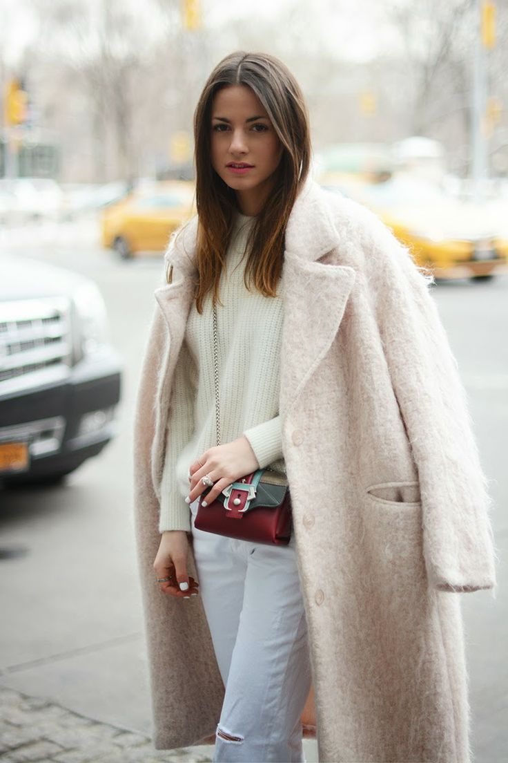 fall-whites-white-jeans-pastel-pink-coat-mini-bag-via-fashionvibe.net