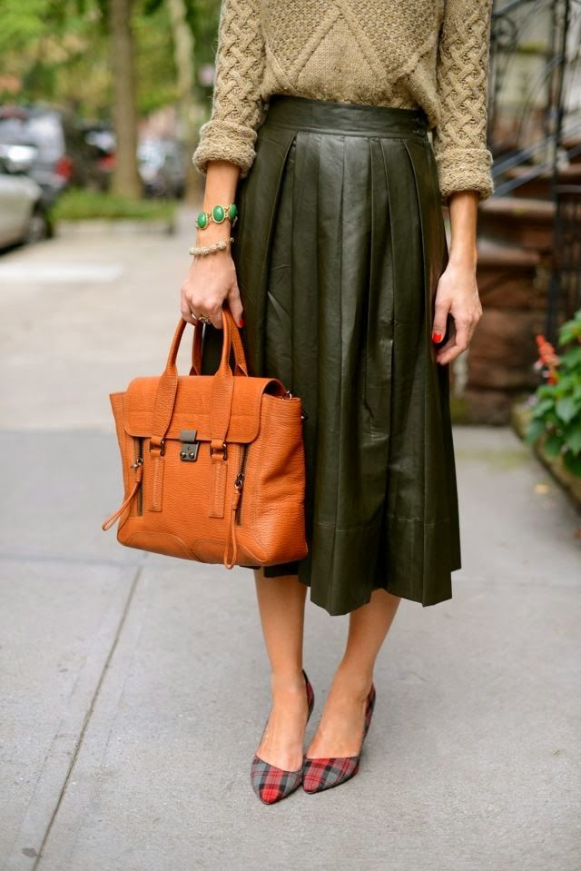 leather-midi-skirt-plaid-printed-pumps-sweaters-and-skirts-fall-via-mlovesmblog.com