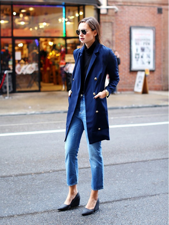 mom-jeans-wedges-navy-military-jackets-via-whowhatwear