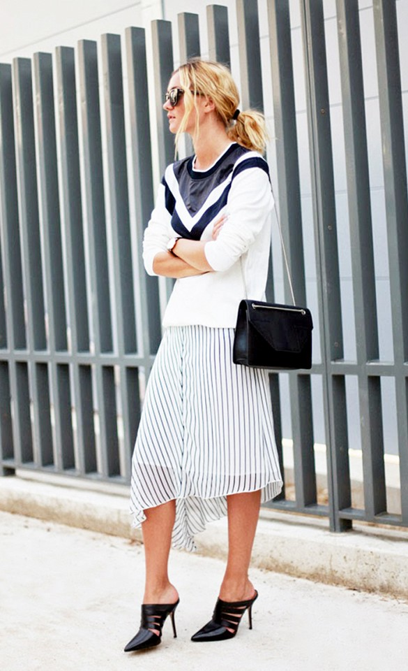 mules-asymmetrical-skirt-stripes-mixed-prints-sweaters-and-skirts-black-and-white-v-stripes-tennis-sweater-colorblock-sweater-via-adenorah