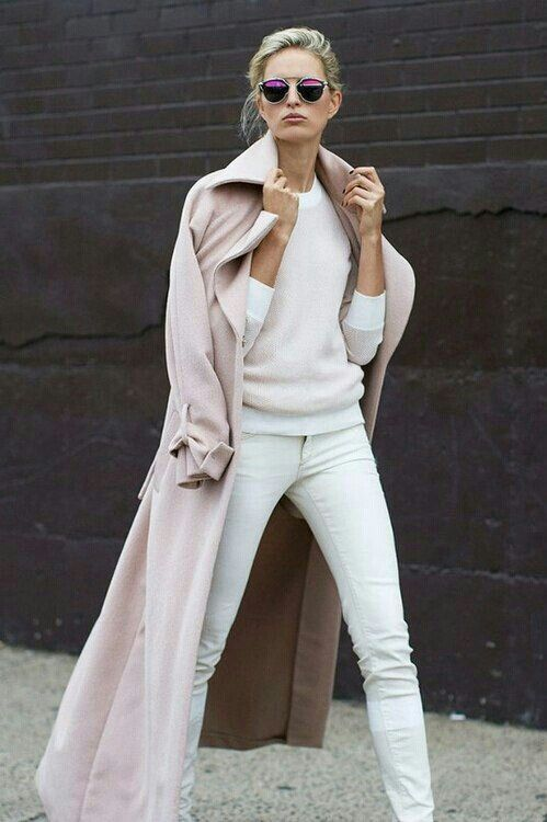 pastel-pnk-coat-white-jeans-fall-pastels-fall-whites-via-pitnerest