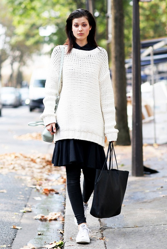 6b786af69a How To Wear Oversized Sweaters (Without Looking Like A Slob) – Closetful of  Clothes