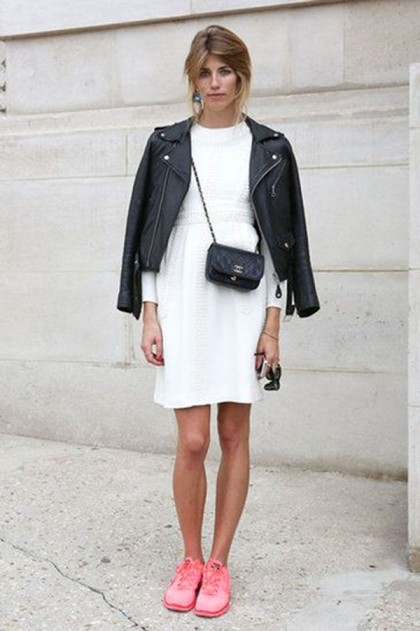 white-dress-sneakers-leather-moto-jacket | Closetful of Clothes