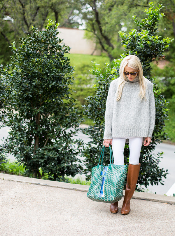white-jeans-fall-whites-turtleneck-sweater-neutrals-winter-neutrlas-tan-ridiing-boots-goyard-via-luellajune