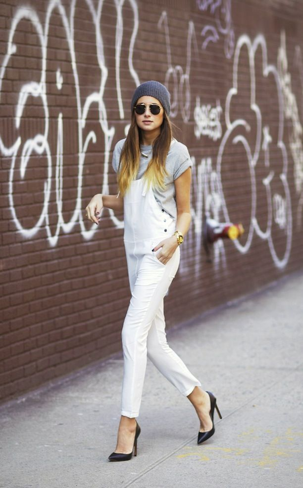 white-overalls-black-pumps-grey-tee-casual-via-whowhatwear