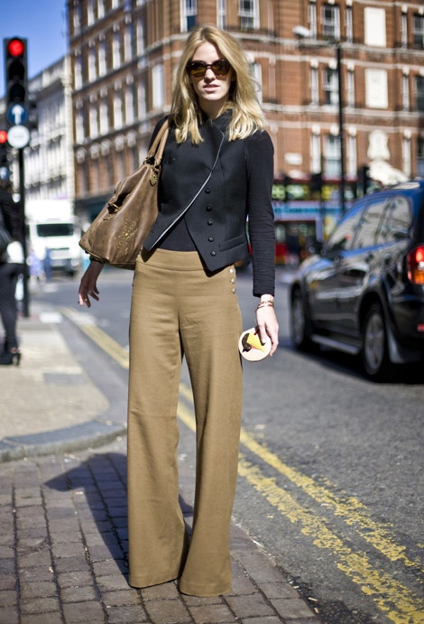 wide-leg-pants-camel-khaki-fall-jacket-work-polished-office-via-streetpeeper.com