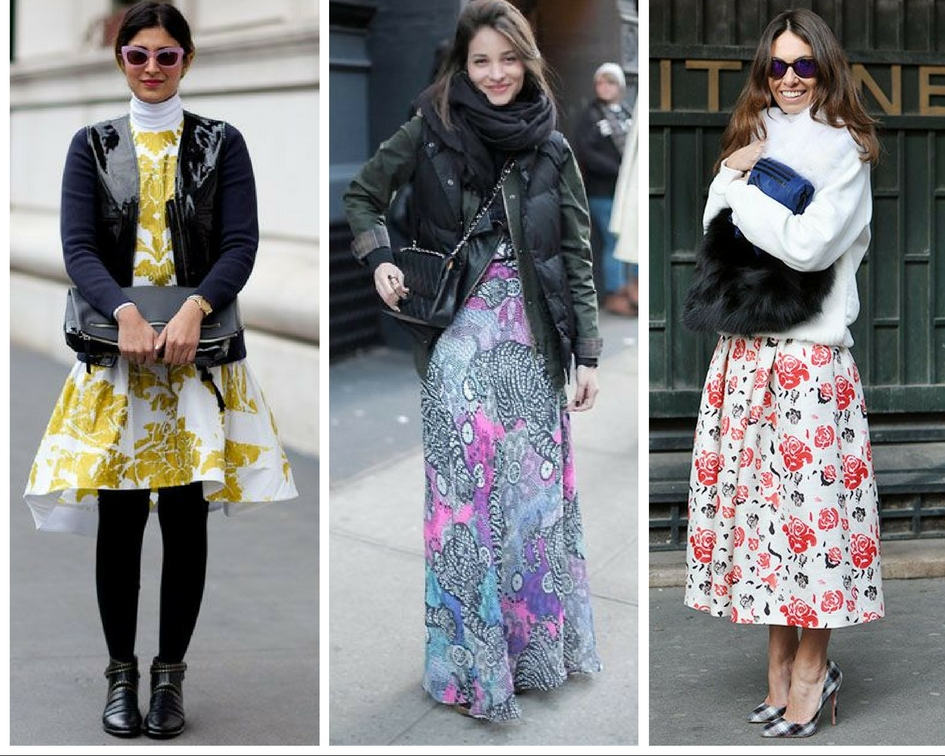 How To Wear Your Summer Dresses In Fall And Winter