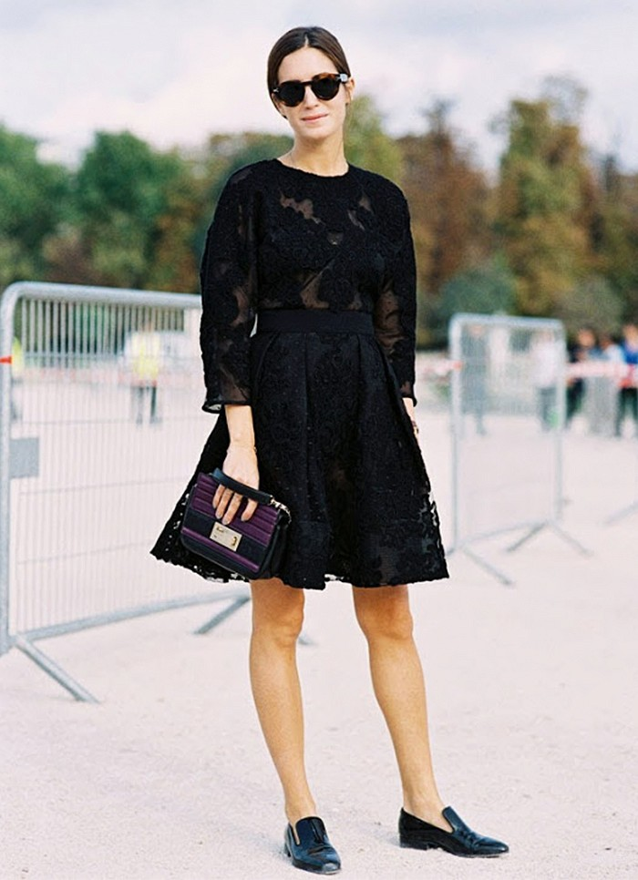 what to wear to holiday parties, black lace party dress