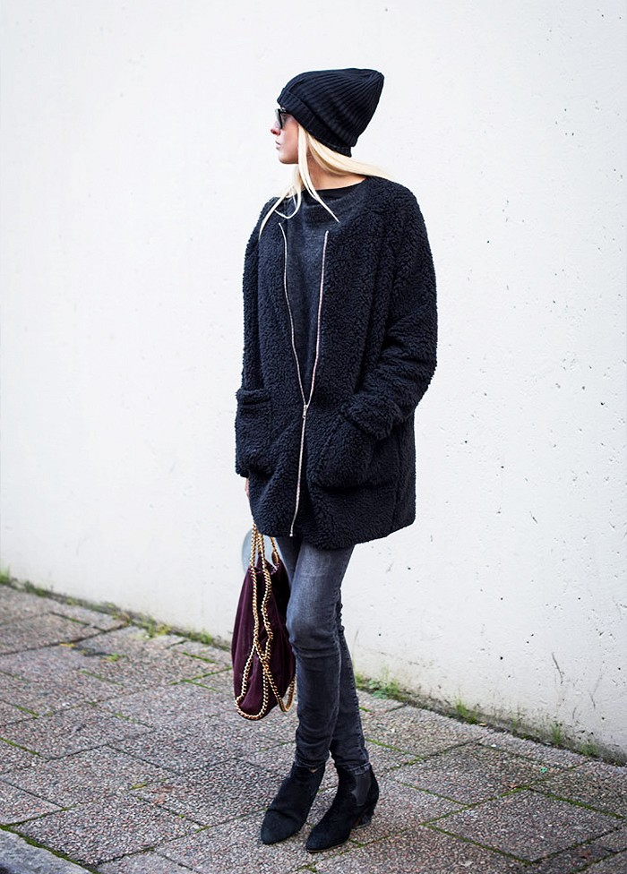 beanie, winter outfit, how to wear beanies, winter hat, knit hat,