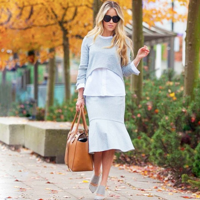 peplum-skirt-crop-top-greys-via-whowhatwear