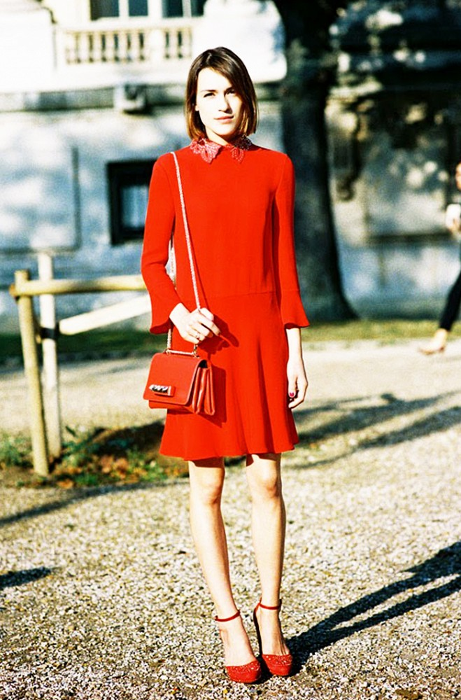 what to wear to your office holiday party, winter outfit, party outfit, red dress, christmas
