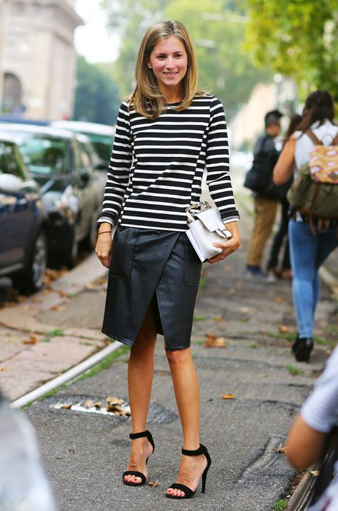 striped-tee-stripes-black-leather-skirt-wrap-sirt-sandals-white-purse-fall-early-fall-sarah-editor-style-via-theepitomeofquiet.tumblr.com