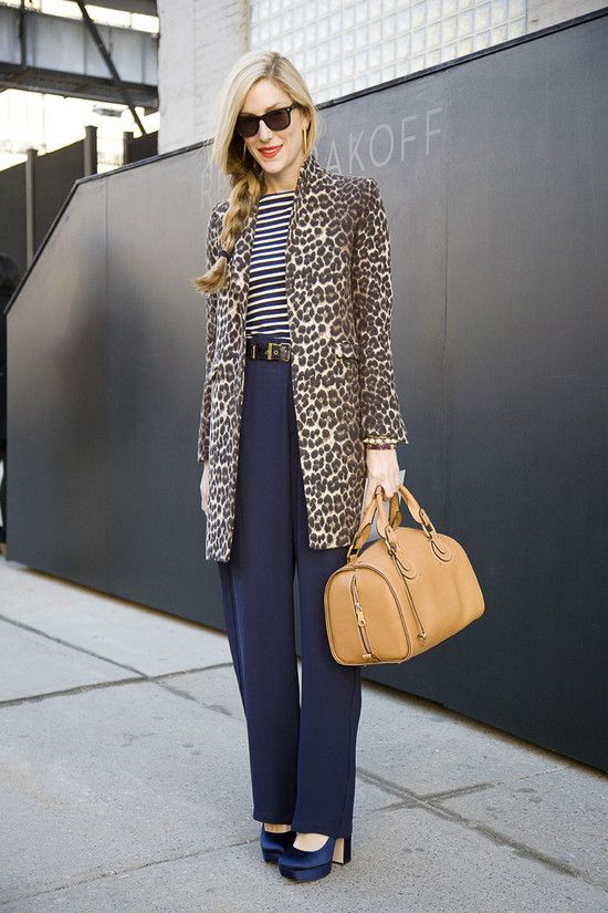 wide-leg-pants-navy-striped-tee-stripes-leopard-coat-classics-joanna-hillman-style-setters-via-street-peeper-fall