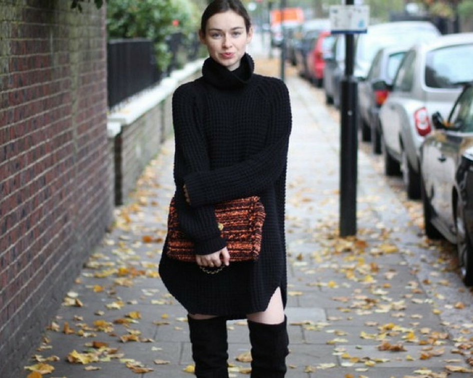How To Wear Sweater Dresses Closetful Of Clothes