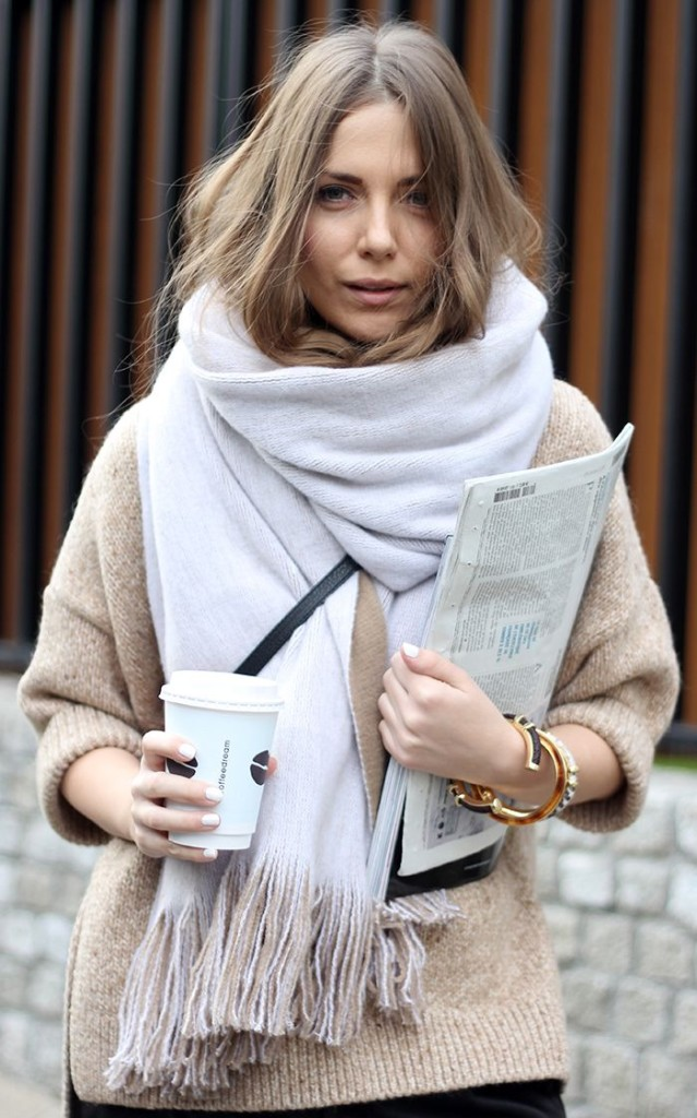 winter outfit, blanket scarf, witner layers, oversized sweater