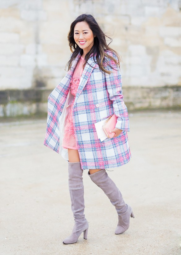 plaid-coat-over-the-knee-boots-via-styledumonde, amy song, song of style