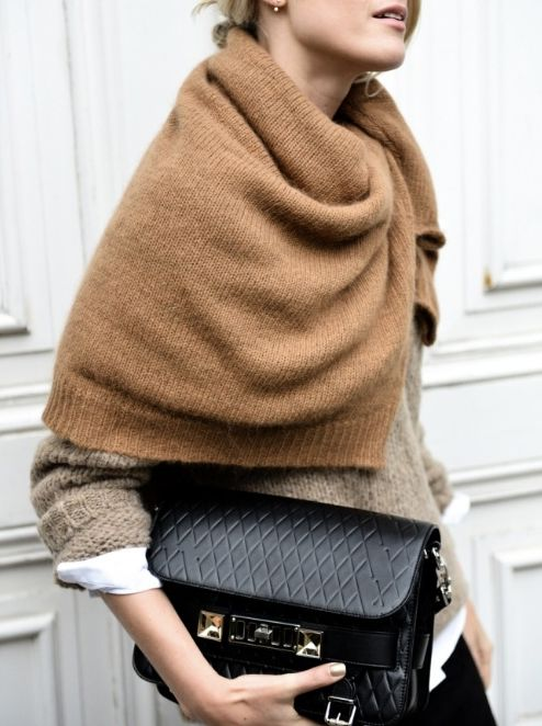 winter outfits, blanket scarf, fall layers, winter layers, neutrals, sweater over button up oxford shirt