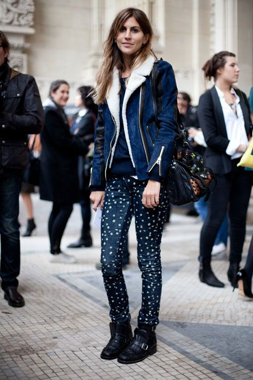 printed-pants-shearling-coat-black-moto-boots-via-
