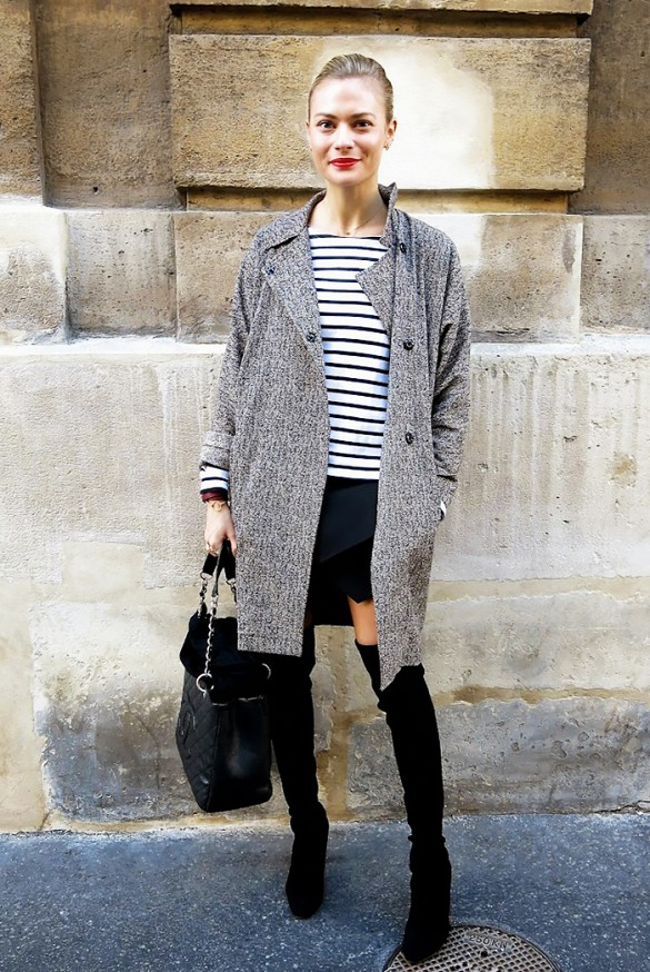 striped-tee-over-the-knee-boots-black-mini-skirt-grey-coat-winter-spring-via-pandora-sykes