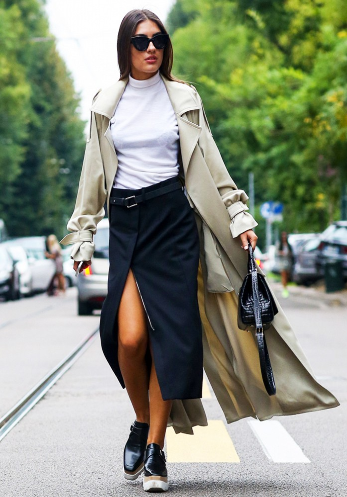 turtlenecks and skirts, wrap skirt