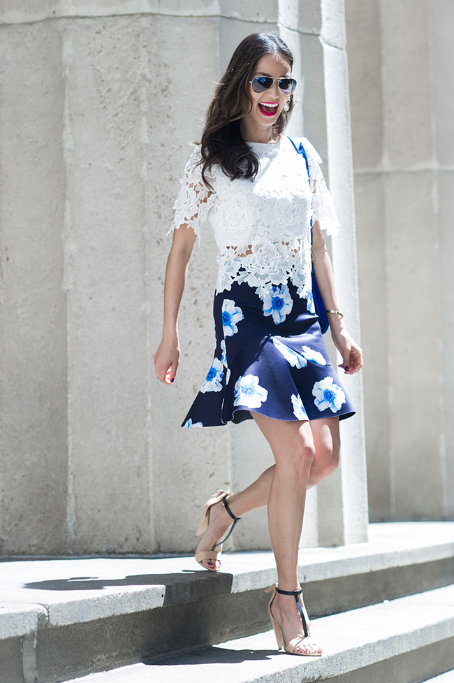 JAMIE-CHUNG_lace-top-floral-,ini-skirt-spring-vsandals-via-party-going-out-FLORAL-SKIRT_WHITE-LACE-TOP