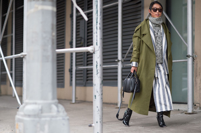 outfit ideas: culottes and turtleneck sweaters, winter outfits