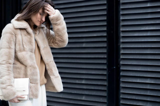 Maria Duenas, Editor Style, NYFW Street Style, Fur Coat, Winter Layers, Winter Outfits, Fashion Week, Coats, Statement Coats