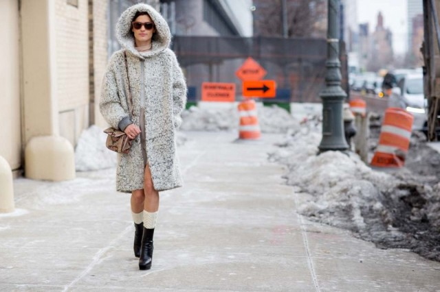 nyfw-staement-coat-hood-texture-hanneli-socks-boots-via-thestyleograph