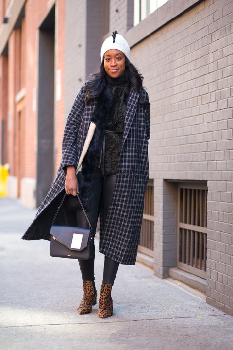 what to wear to work when it's freezing outside