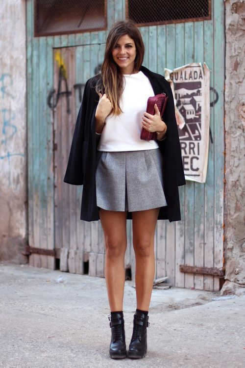 early-spring-grey-neutrals-booties-shorts-via-marieclaire.com