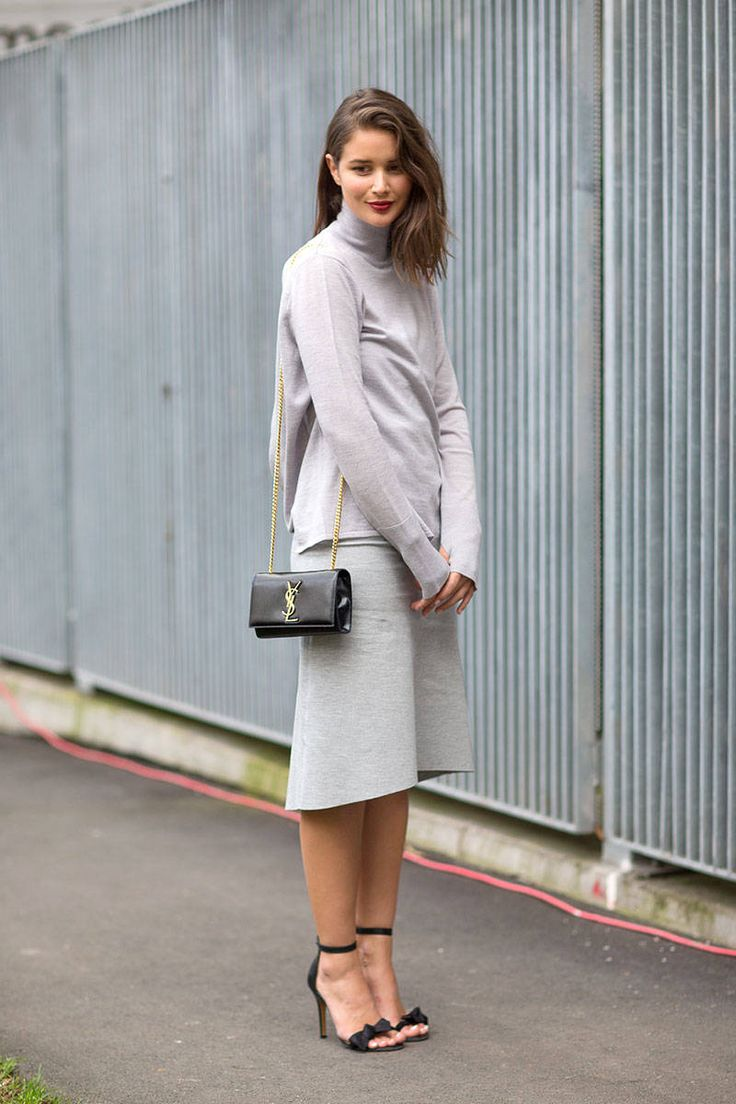 early-spring-midi-skirt-turtleneck-grey-neutrlas-work-via-harpersbazaar.com