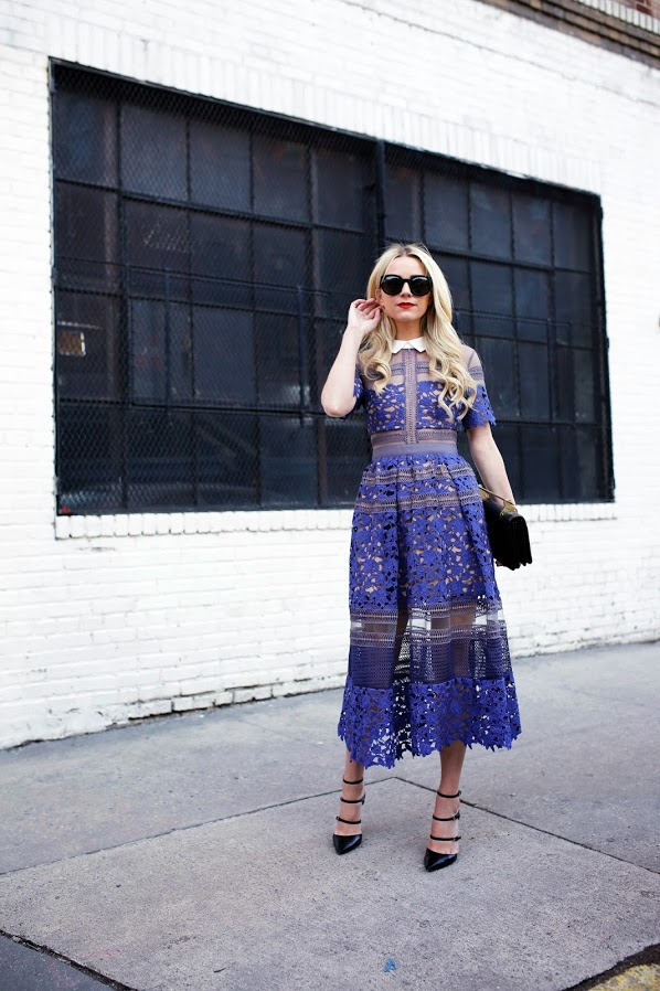 lace , spring dress, party, event, blair eadie