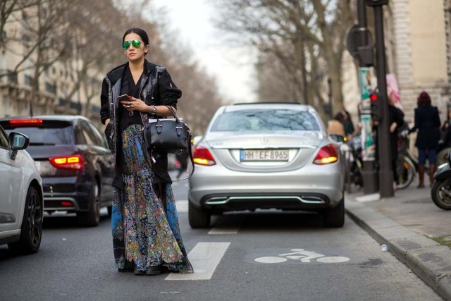 70s, pfw, street style, spring to winter, transitional dressing