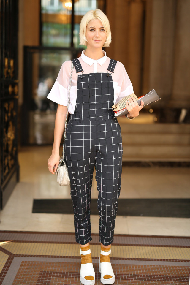 overalls-windowpane-prints-socks-treaded-sandals-creepers-90s-whtie-shoes-black-and-white-sheer-PFW-Street-Style-time-regas-insta-wheresmydriver-