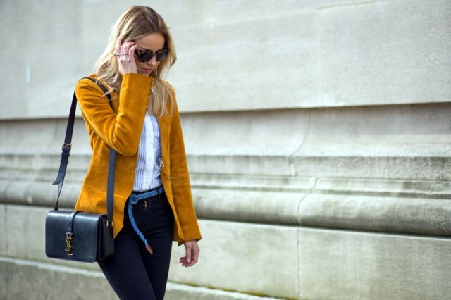 pfw-suede-jacket-70s-striped-oxford-wide-leg-jeans-via-the styleograph