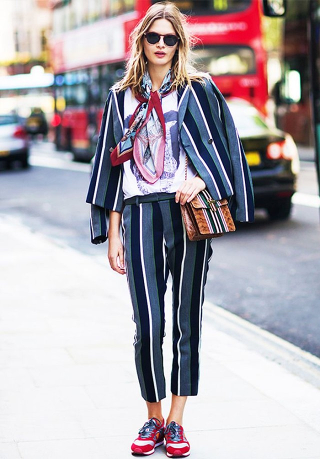 striped-suit-pants-suit-sneakers-and-suits-scarf-tee-spring-style-pfw-via-whowhatwear