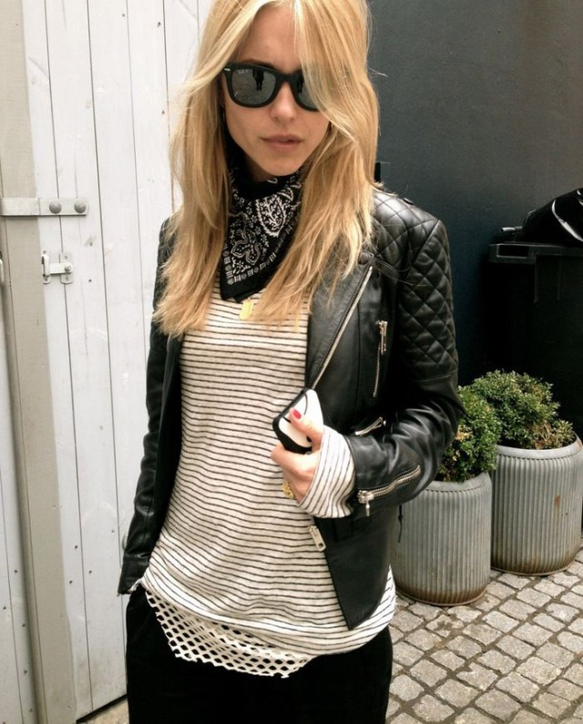 striped-tee-spring-layered-moto-jacket-black-leather-moto-jacket-black-pants-bandana-via-look-de-pernille