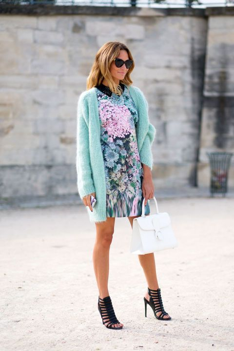 cardigan-pastels-spring-dress-white-bag-wedding-brunch-shower-via-hbz