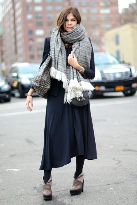 emily-weiss-scarf-goyard-maxi-dress-summer-to-fall-transtional-dressing-via-