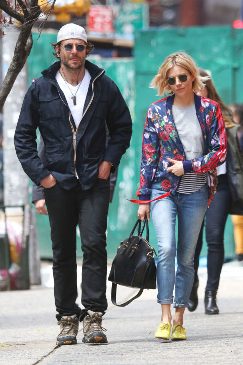 sienna-miller-roled-jeans-brogues-floral-track-jacket-spring-layers-weekend-via-hbz