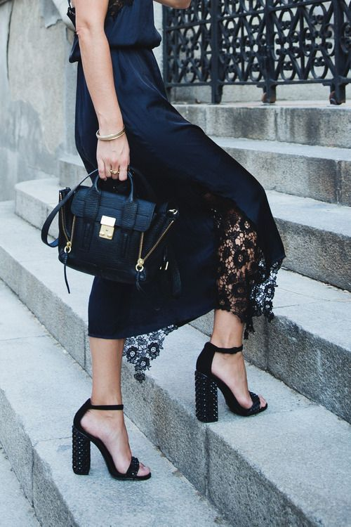 spring-black-lace-work-night-out-party-block-heels-via-lifestylefiles.tumblr.com