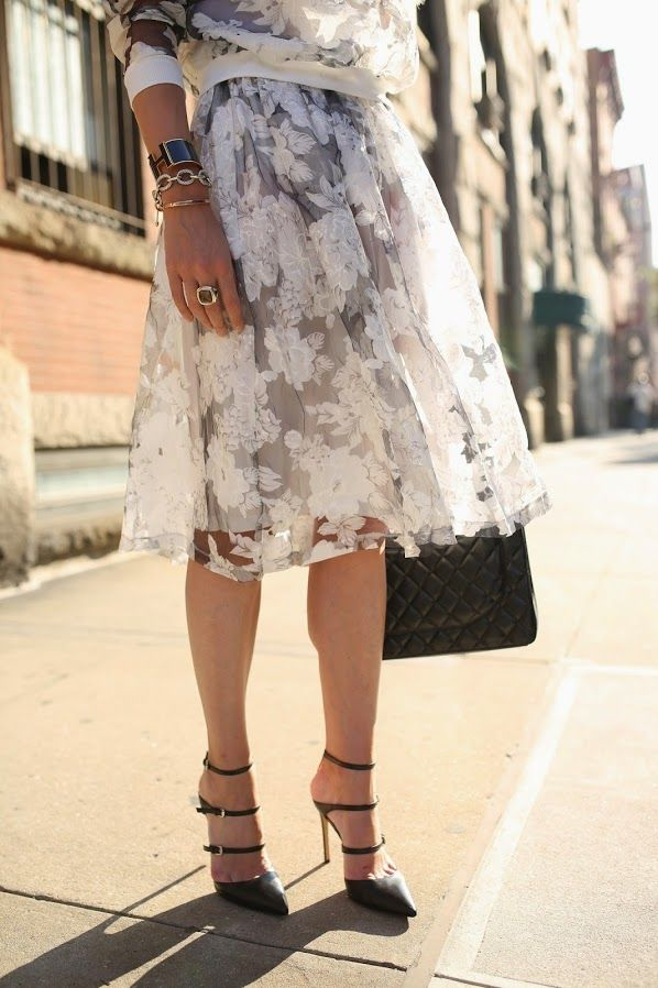 spring-florals-black-and-white-florals-midiskirt-spring-work-shower-out-via-atlantic-pacific