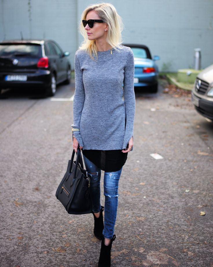 weekend-layers-skinny-jeans-tunic-sweater-via-lisarvd.com ...